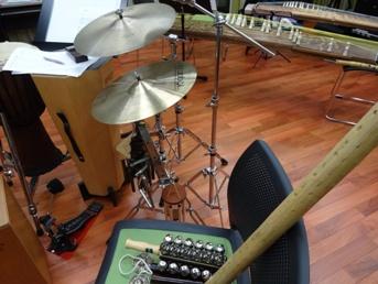 楽器たくさん
