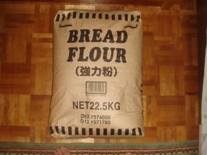 小麦粉の大きな袋