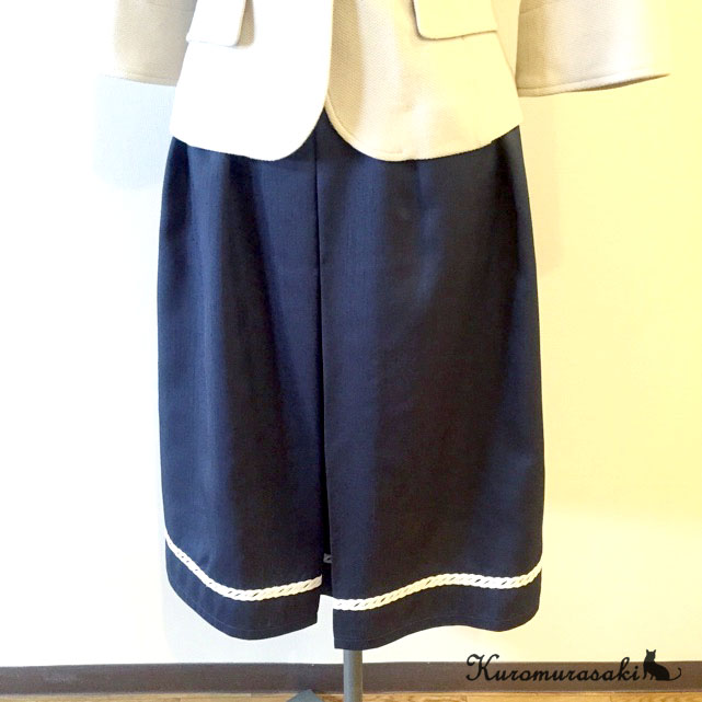 ボックスプリーツスカート1