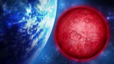 地球と惑星レッドは兄弟星なんだ