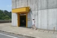 小里川ダム内部入口
