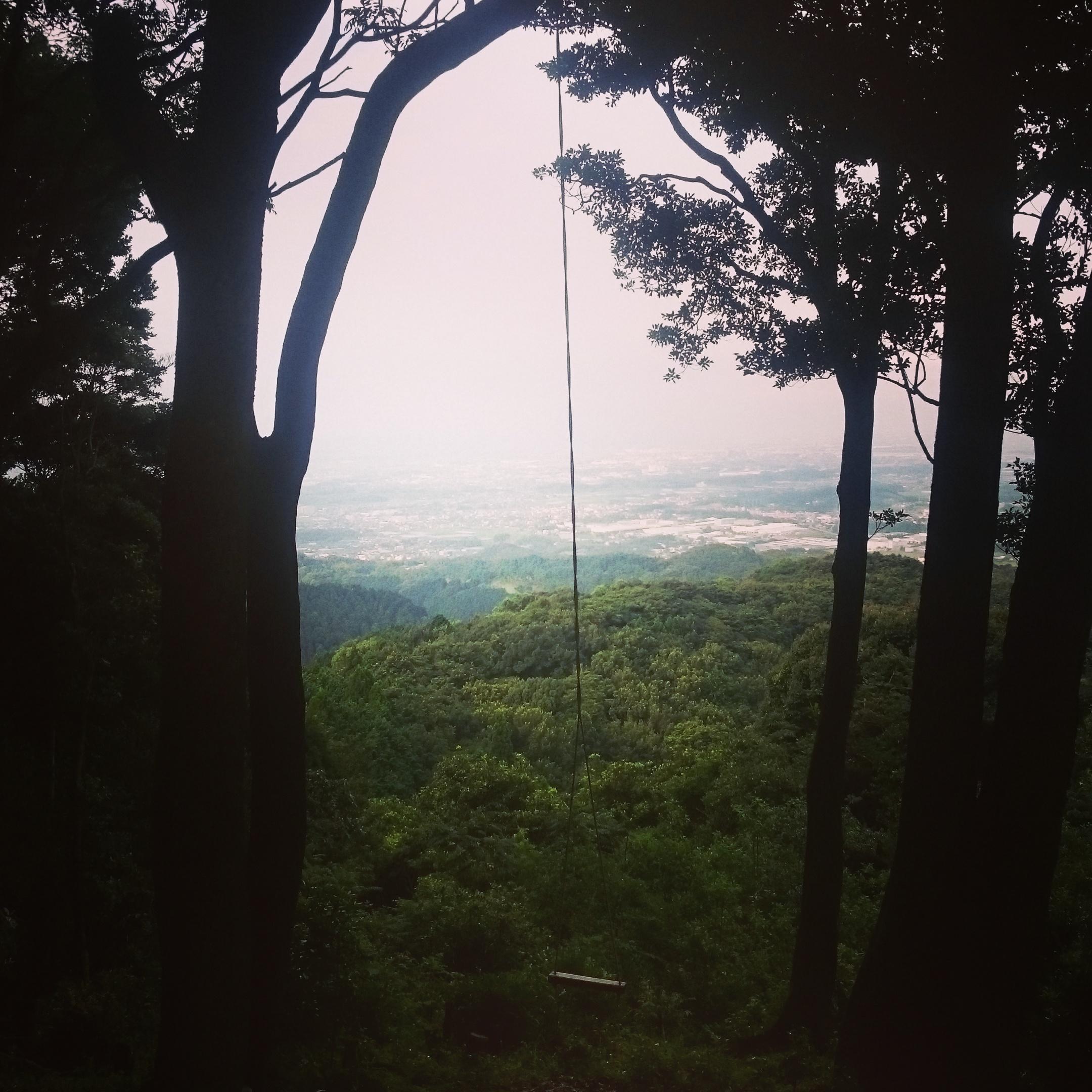 明星山ブランコ