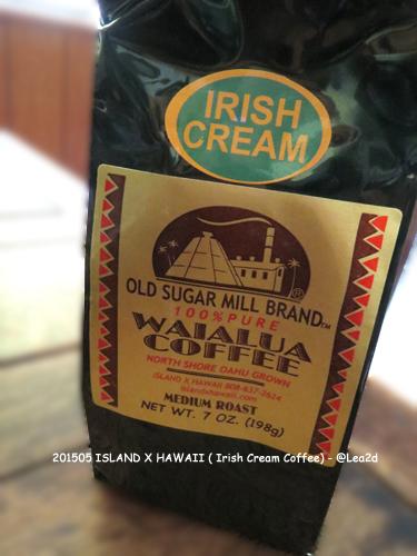 201505 ISLAND X HAWAII(アイランド X ハワイ)で買う Irish Cream Coffee(アイリッシュクリームコーヒー)