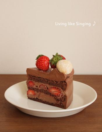 柚ちゃん13歳バースデーケーキ⑤