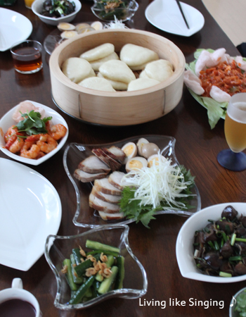 中華のテーブル