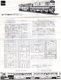 大井川鉄道DD20説明書RZ