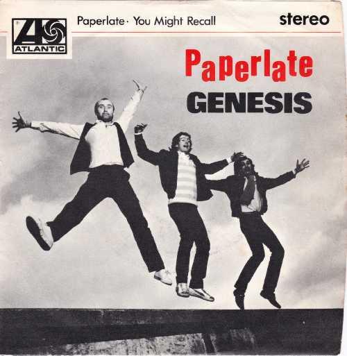 Genesis - Paperlate Front