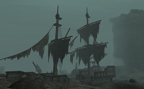 アラパゴ暗礁域は船の墓場
