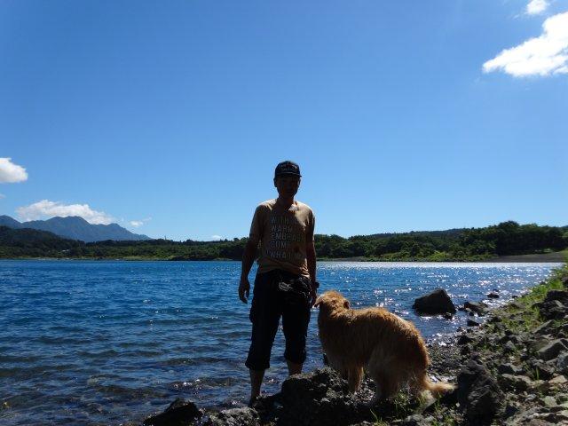 本栖湖 犬 2015-7-22 071