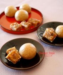 そば饅頭とくるみ柚餅子 (254x300)