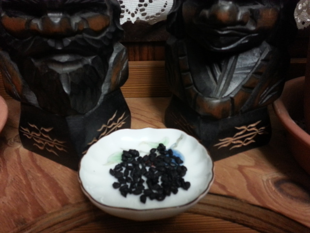 黒焼き玄米