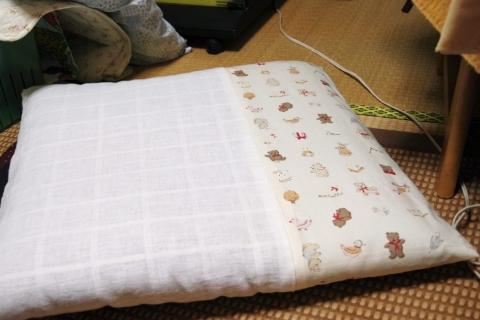 手作り座布団カバー
