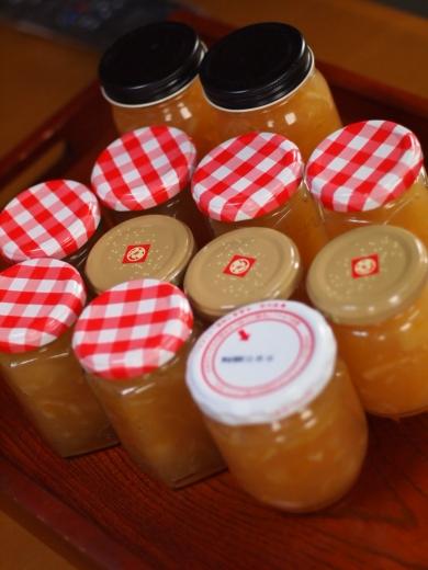 ニャヲハタレモンマーマレード&りんご&カボスのミックスジャム