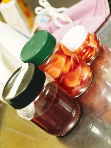 梅酢で漬けた紅生姜