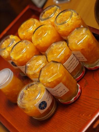 スイートスプリングとリンゴとレモンのミックスジャム