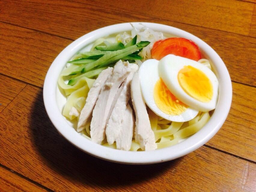 冷麺 写真
