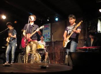 2015_08 13_拾得ライブ、3バンド・6