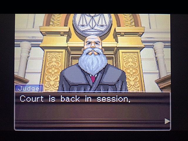 逆転裁判 北米版 ロッタの証言開始1
