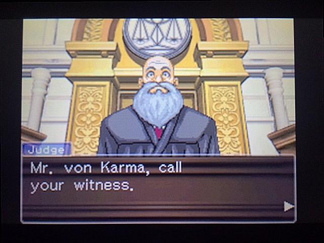 逆転裁判 北米版 ロッタの証言開始2