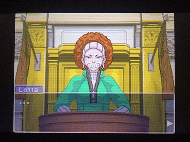 逆転裁判 北米版 ロッタの証言開始9