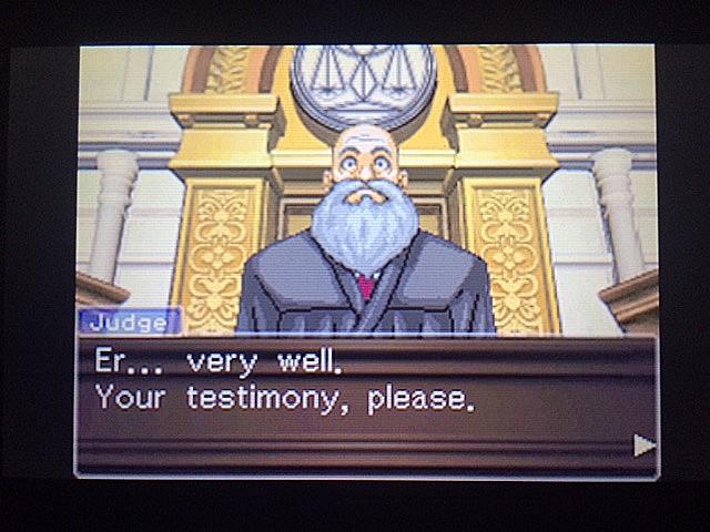 逆転裁判 北米版 ロッタの証言開始13
