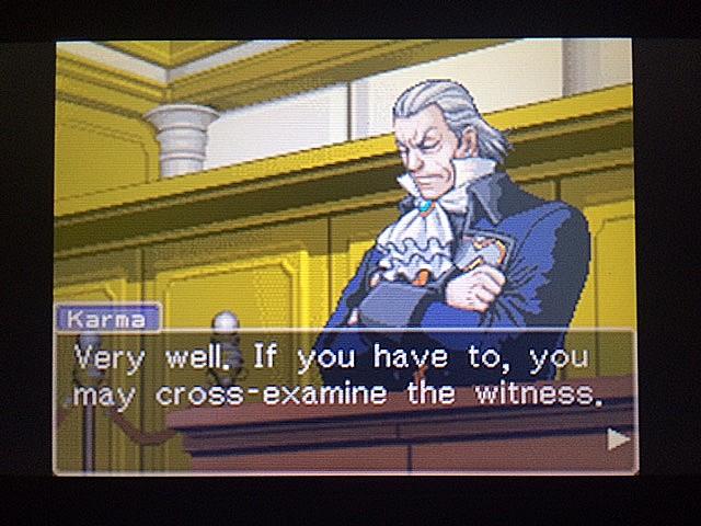 逆転裁判 北米版 ロッタの証言開始45