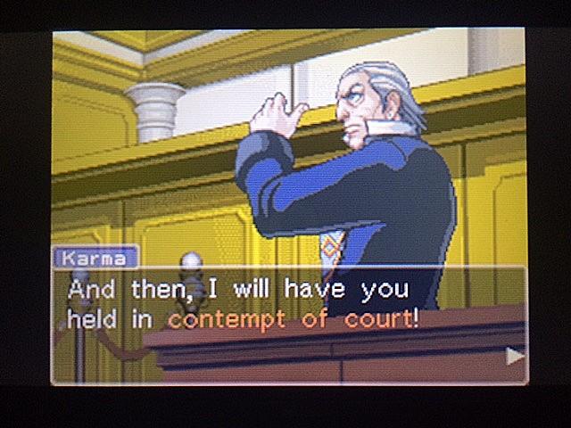 逆転裁判 北米版 ロッタの証言開始47