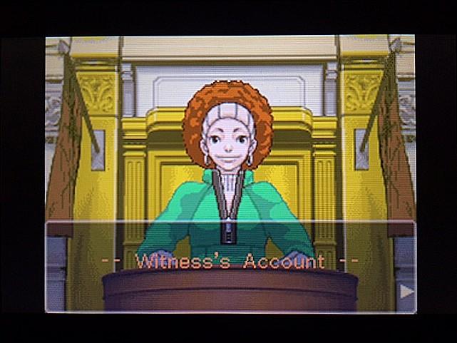 逆転裁判 北米版 ロッタの証言に反対尋問1