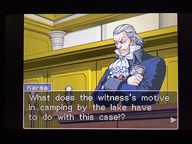 逆転裁判 北米版 ロッタの証言に反対尋問16