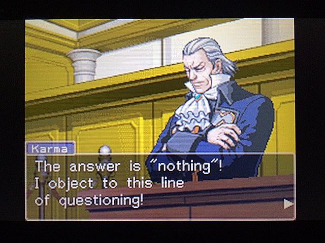 逆転裁判 北米版 ロッタの証言に反対尋問17