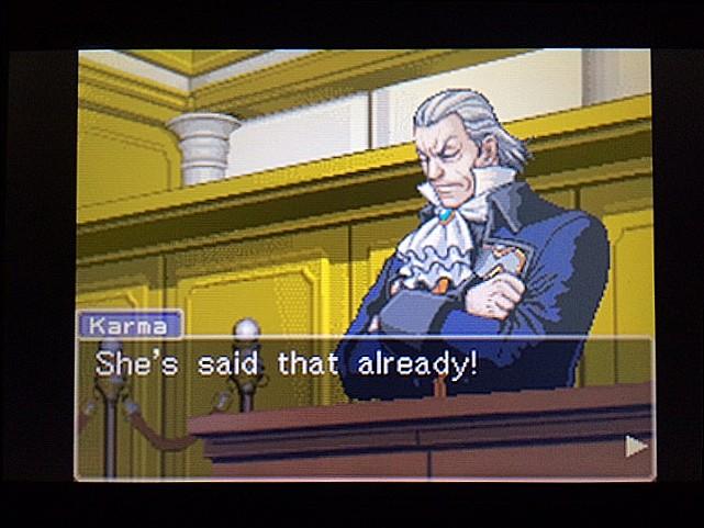 逆転裁判 北米版 ロッタの証言に反対尋問27