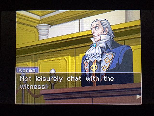 逆転裁判 北米版 ロッタの証言に反対尋問28