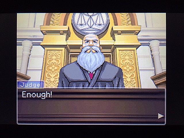 逆転裁判 北米版 法廷侮辱罪1