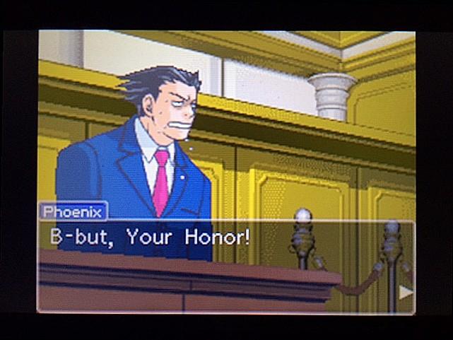 逆転裁判 北米版 法廷侮辱罪3