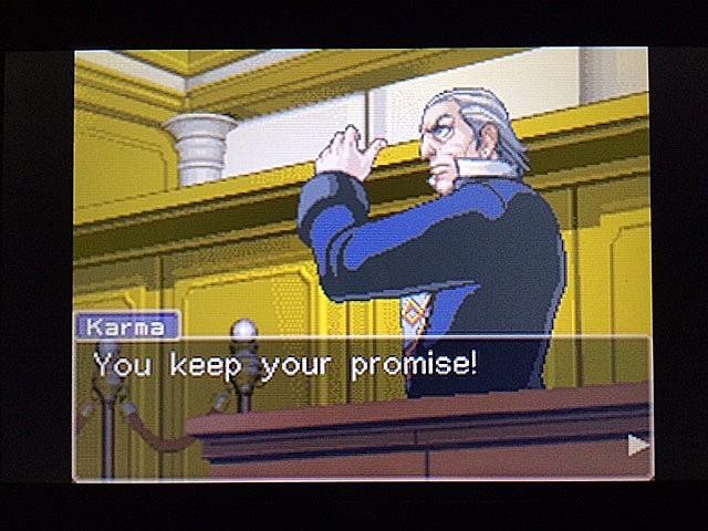 逆転裁判 北米版 法廷侮辱罪4