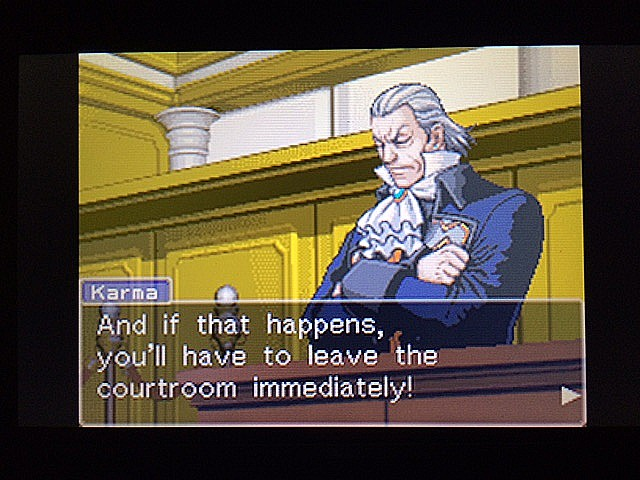 逆転裁判 北米版 法廷侮辱罪7