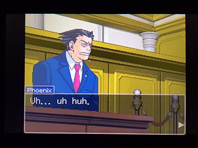 逆転裁判 北米版 法廷侮辱罪9