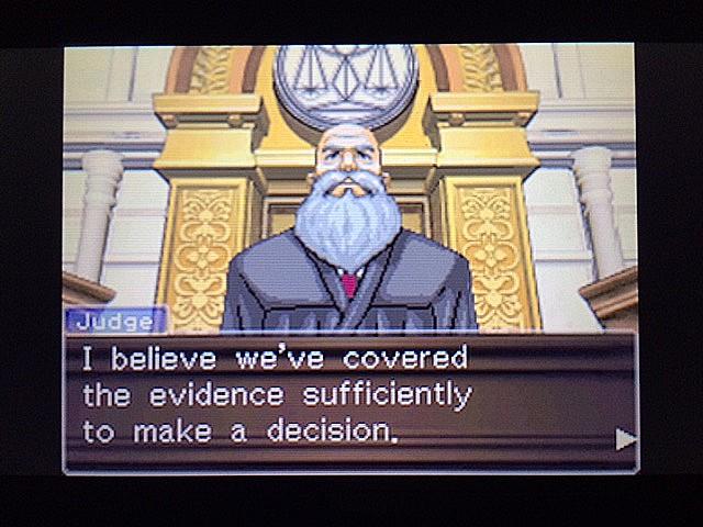 逆転裁判 北米版 法廷侮辱罪12