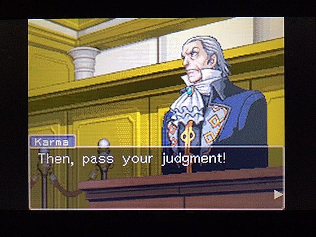逆転裁判 北米版 法廷侮辱罪13