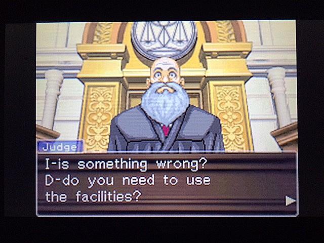 逆転裁判 北米版 法廷侮辱罪24