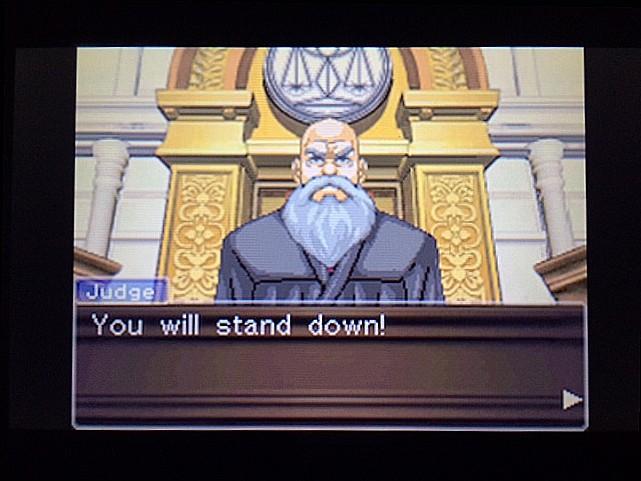 逆転裁判 北米版 法廷侮辱罪33