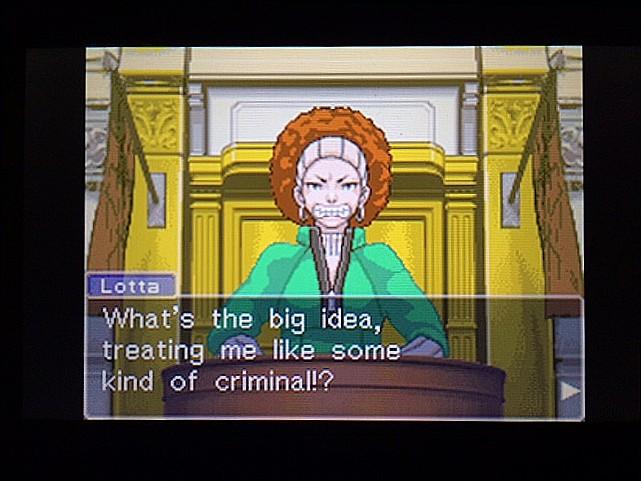 逆転裁判 北米版 法廷侮辱罪35