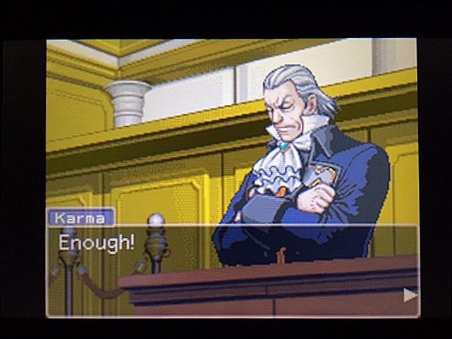 逆転裁判 北米版 法廷侮辱罪37