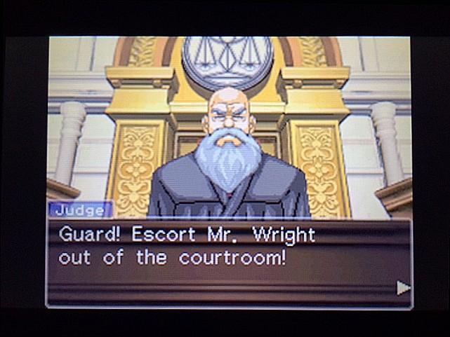 逆転裁判 北米版 法廷侮辱罪41