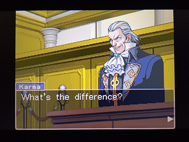 逆転裁判 北米版 法廷侮辱罪48