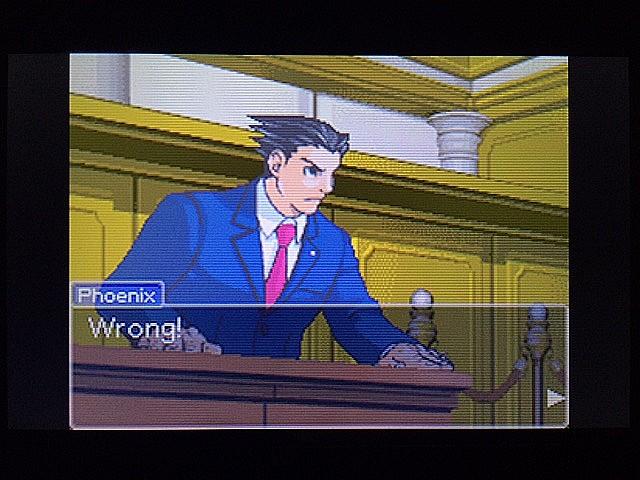 逆転裁判 北米版 法廷侮辱罪49