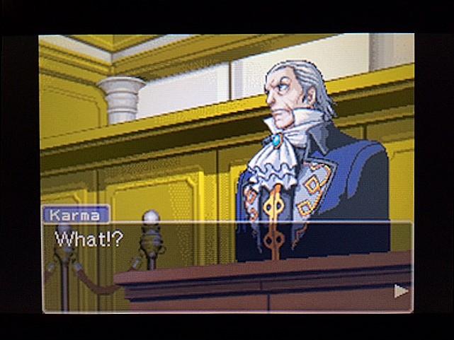 逆転裁判 北米版 法廷侮辱罪50