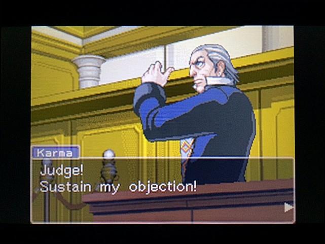 逆転裁判 北米版 法廷侮辱罪55