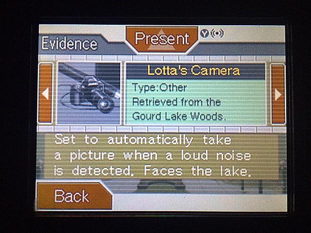 逆転裁判 北米版 ロッタ・ハートの撮りたいモノ9