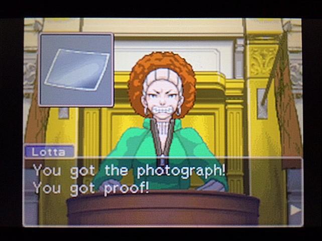 逆転裁判 北米版 写真の拡大はしなかったの?17